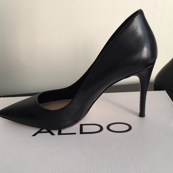 2220a754dc6 Aldo Shoes - ALDO Uloaviel Pump Size 7 Matte Black